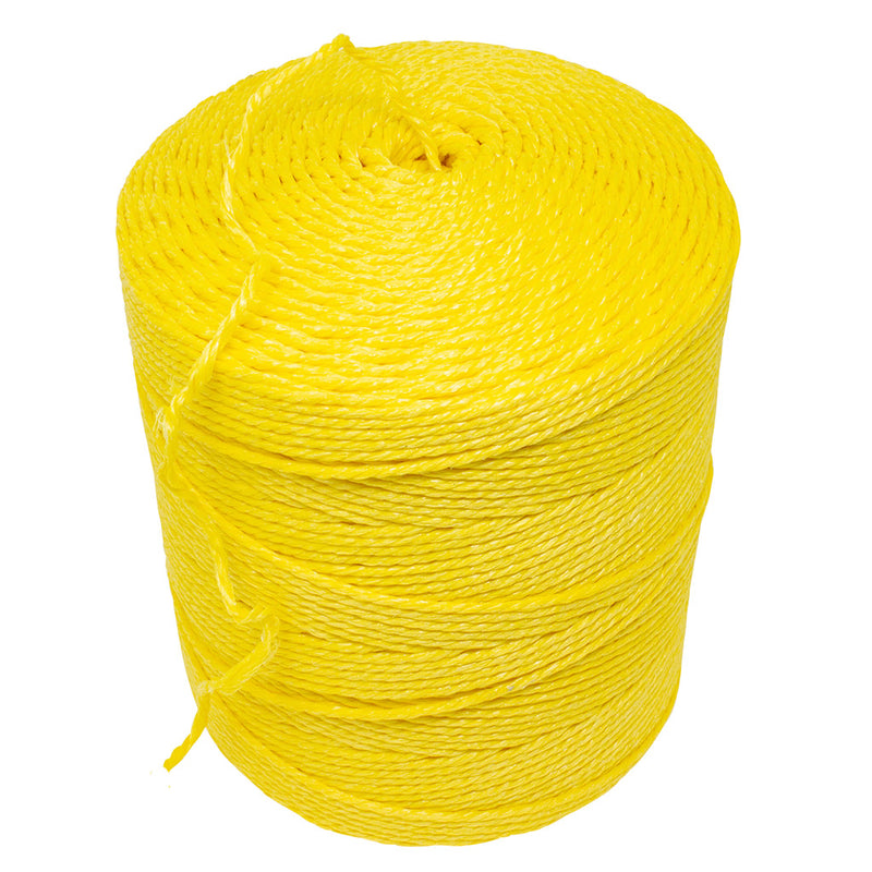 3mm Yellow Polypropylene Rope - 4kg Spool