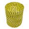 3mm Yellow and Black Polypropylene Rope - 4kg Spool