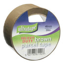 48mm x 50m Heavy-Duty Brown Tape - Pack of 6