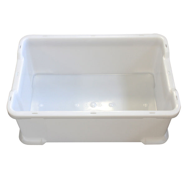 Stacking Tray (600 x 400 x 225mm) – White
