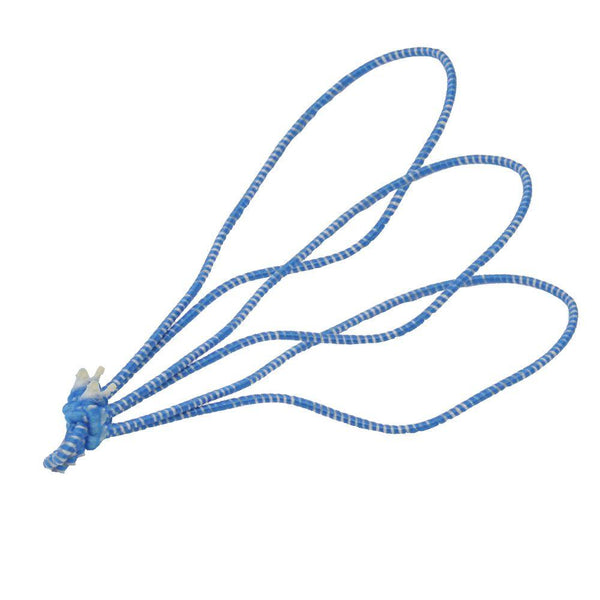 TruNet 11cm Poultry Loops Blue/White Elasticated Polyester Meat Ties. From £29.99 per 5000