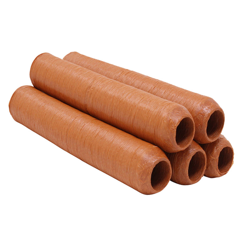 23mm Hot Dog/Saveloy Casing Edible Red Collagen