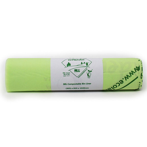 80L Compostable Liners