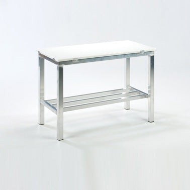Food Cutting Table with Stainless Steel Stand