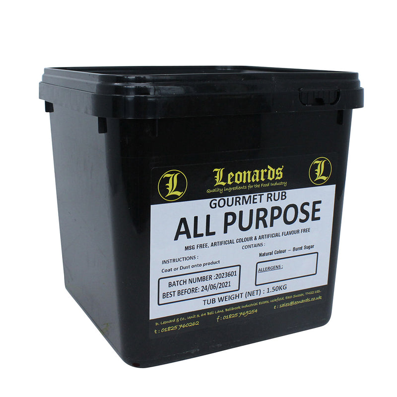 All Purpose Gourmet Rub – 1.5kg Tub