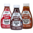 Skinny Sauce – BBQ Essentials Sauce Bundle (3 x 425ml Pack)