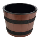 8L Barrel Bowl Set with Plain Melamine Insert