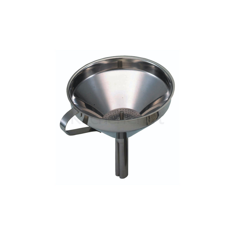 13cm Funnel with Removable Filter – Stainless Steel