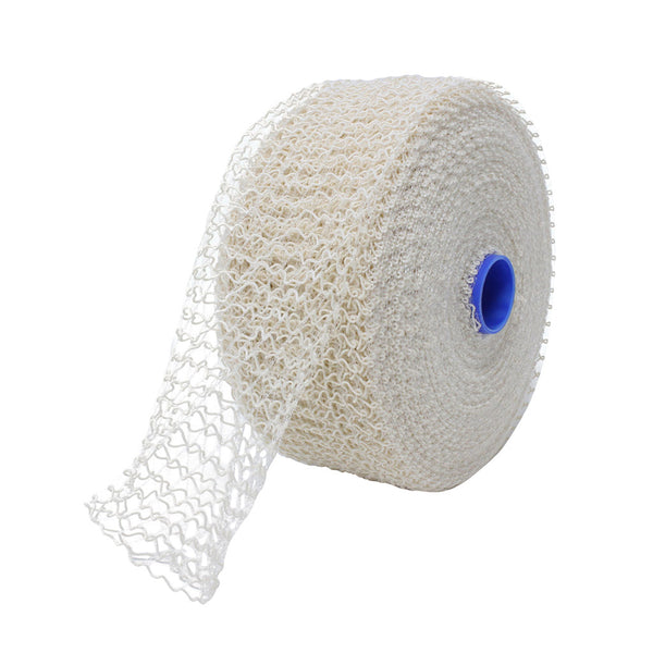 TruNet 125mm 16sq White/Clear Bacon Large Net  - 50m Roll