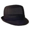 Black Nylon Trilby Hat - Small