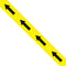 Black/Yellow Tape with Arrows - 48mm x 33m