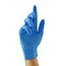 Blue Vinyl Powdered Disposable Gloves - Box of 100