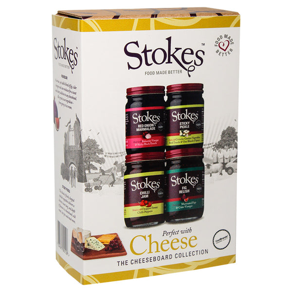 Stokes Cheeseboard Collection Gift Box