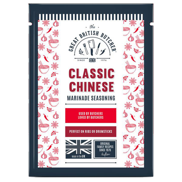 Classic Chinese Marinade Seasoning Retail Sachets – 12 x 35g