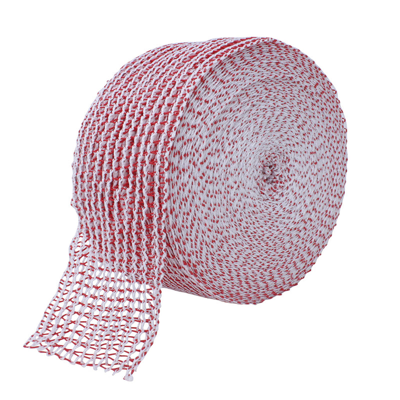 TruNet 48sq Economy Red/White Elasticated Meat Netting