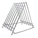 Economy 6-Slot Stainless Steel Wire Board Stand/Rack