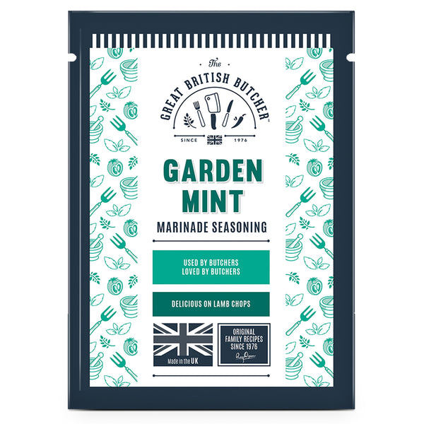 Garden Mint Marinade Seasoning Retail Sachets – 12 x 35g