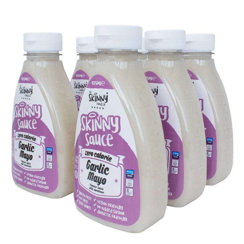 Skinny Sauce - Garlic Mayo (6 x 425ml Pack)