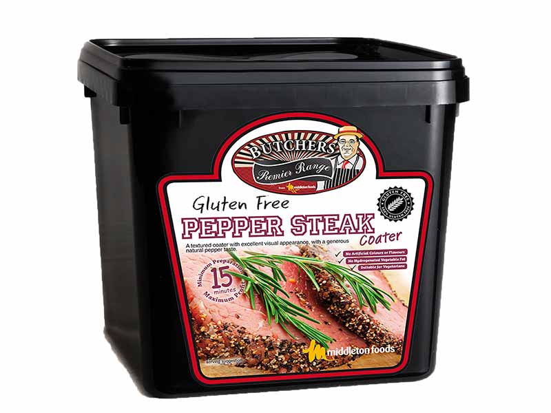 Gluten-Free Pepper Steak Meat Coater - 2.5kg