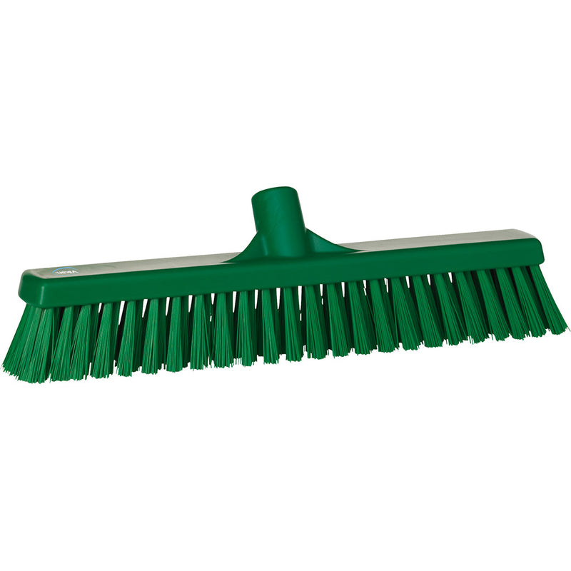 Green Broom Head - Soft Bristles