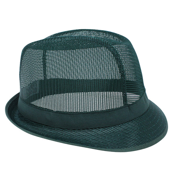 Green Nylon Trilby Hat - X Large