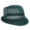 Green Nylon Trilby Hat - Medium