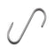 160 x 6mm S Butchers Meat Hanging Hooks - 10 Hooks/Box