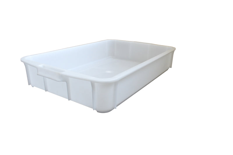 955 Stacking Tray (700 x 450 x 120mm) – White