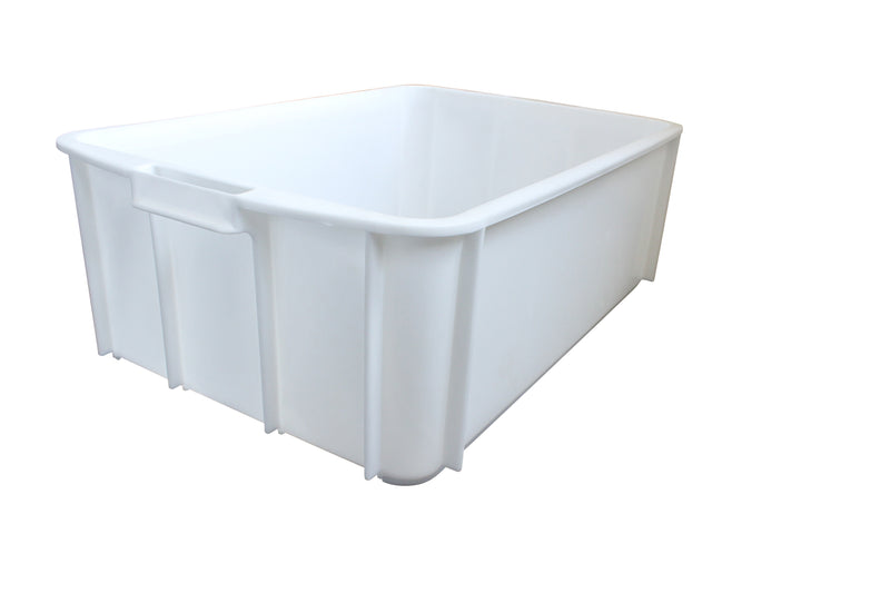 956 Stacking Tray (700 x 450 x 230mm) – White