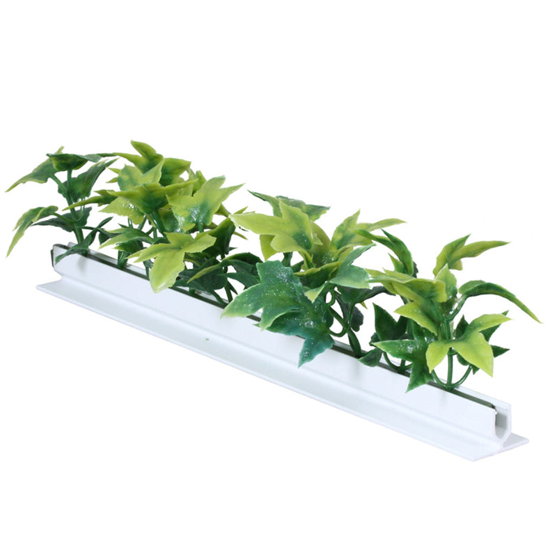 Green Ivy Divider Garnish White Base 12/Box