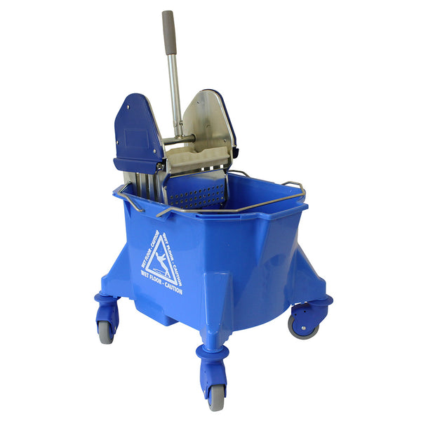 Blue Kentucky Mop Bucket & Wringer