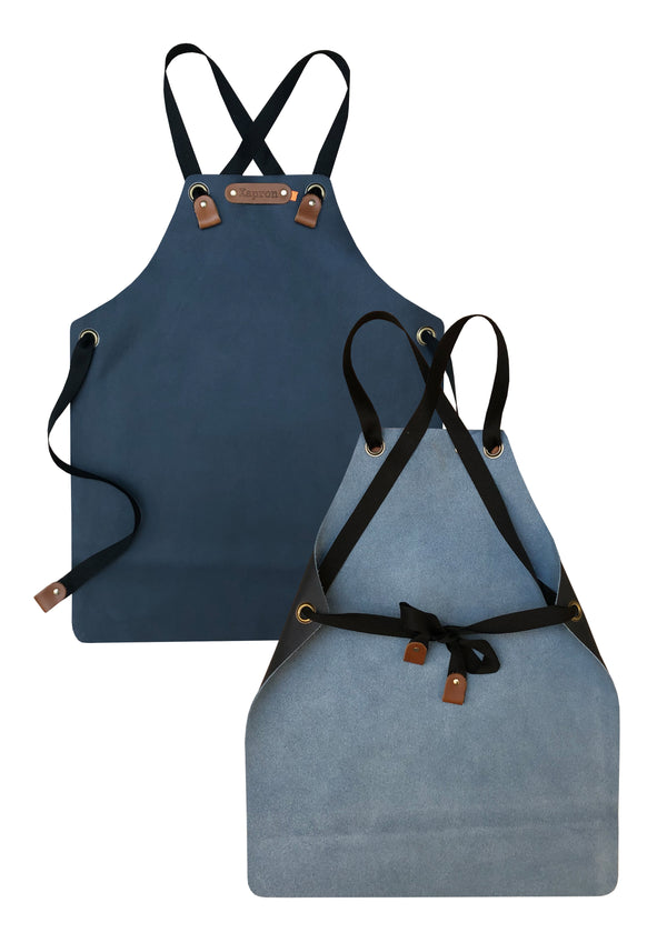 Kid's Long Leather Apron