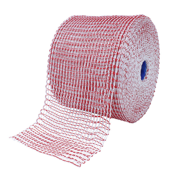 TruNet 48sq Standard Red/White Elasticated Meat Netting