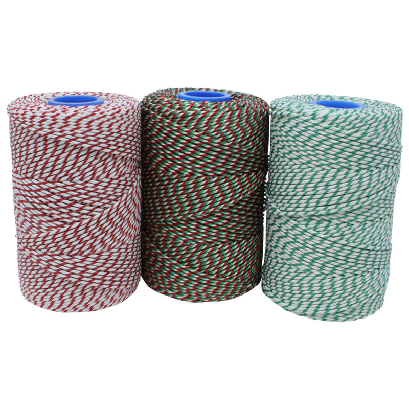 Christmas Butchers Twine/String Set - 3 x 260m (500g) Reels