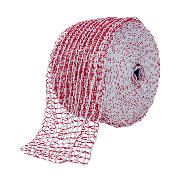 TruNet 24sq Standard Red/White Elasticated Meat Netting