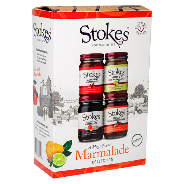 Stokes Magnificent Marmalade Collection Gift Box