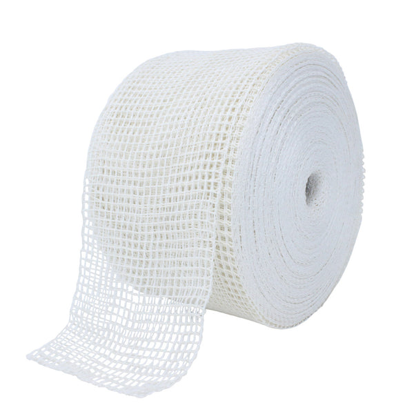 TruNet 48sq Premium White/White Elasticated Meat Netting
