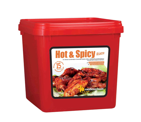 Hot & Spicy Glaze