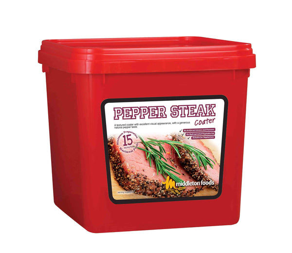 Pepper Steak Meat Coater