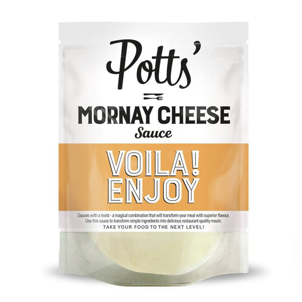 Mornay Cheese Pour-Over Sauce - 6 x 250g