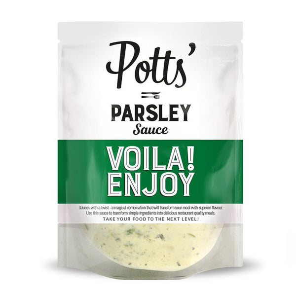 Parsley Pour-Over Sauce - 6 x 250g