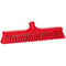 Red Broom Head - Soft Bristles