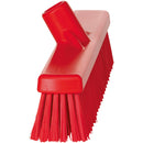 Red Broom Head - Soft/Hard Bristles