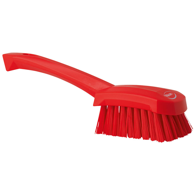 Red Washing/ Utility Brush - Short Handle