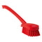 Red Washing/ Utility Brush - Long Handle