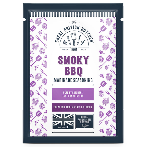 Smoky BBQ Marinade Seasoning Retail Sachets – 12 x 35g