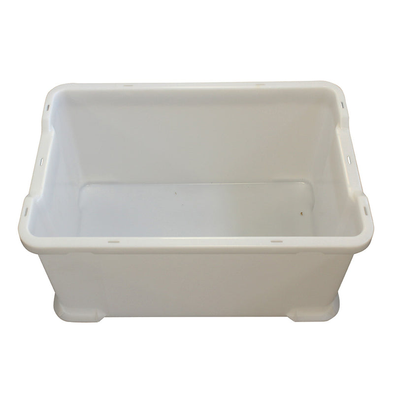 Stacking Tray (600 x 400 x 300mm) – White