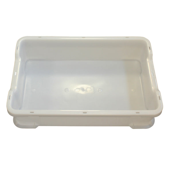 Stacking Tray (600 x 400 x 145mm) – White