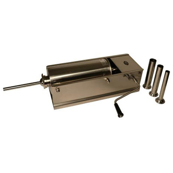 5L Horizontal Sausage Stuffer - Stainless Steel