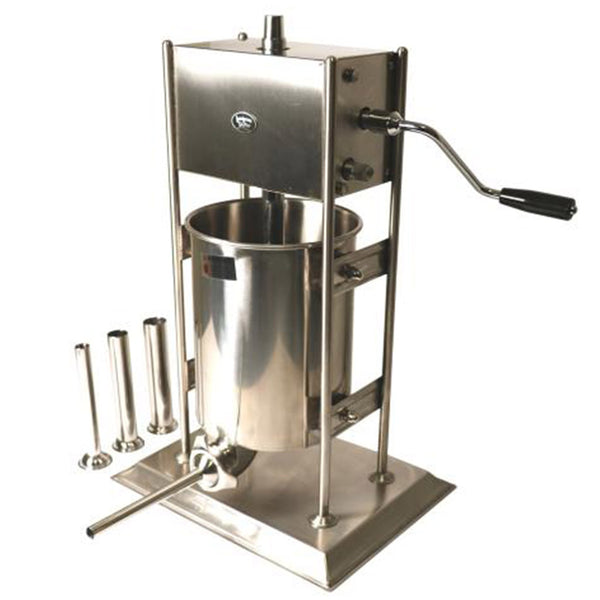 10L Vertical Sausage Stuffer - Stainless Steel